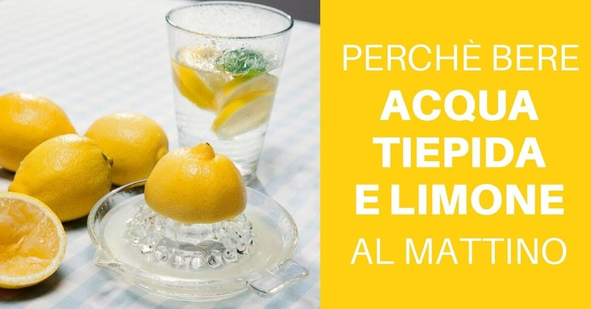 Photo of Limone e acqua al mattino: ecco i 10 benefici