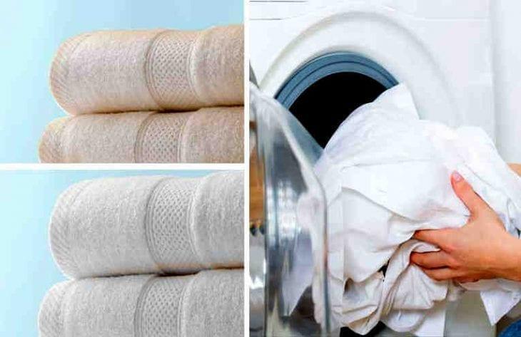Asciugamani sempre come nuovi. Scopri qual'è il segreto…
