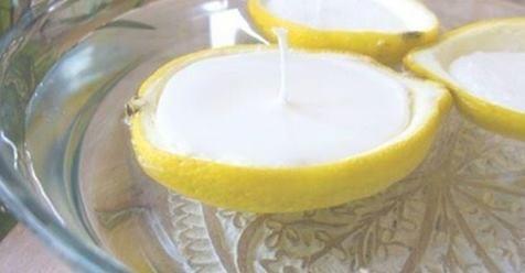 Zanzare: Imparare a rimuovere qualsiasi zanzara dalla tua casa in modo facile con solo fare queste candele con buccia di limone.