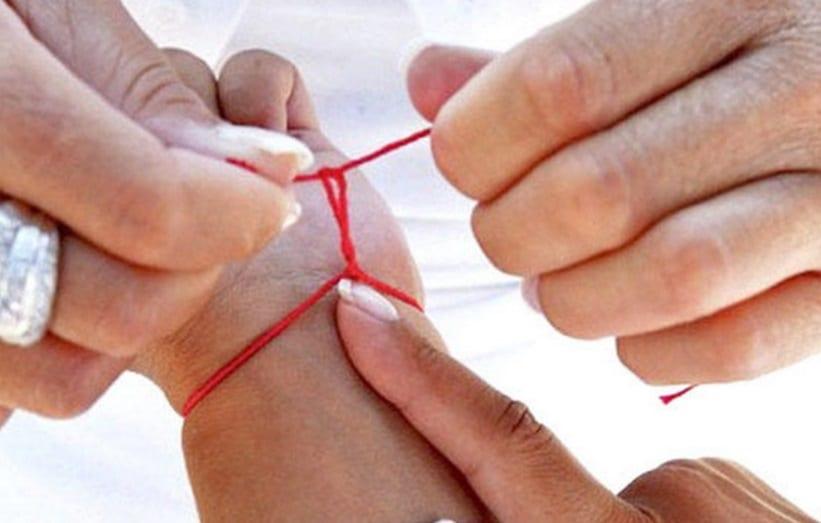 Filo rosso: Indossare un braccialetto rosso è un'usanza molto antica e magica ecco il perchè