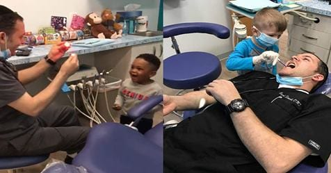 Photo of Dentista: Il dentista che calma i suoi piccoli pazienti con la magia