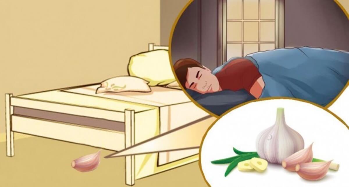 Spicchio d'aglio: Mettilo sotto il cuscino, scopri perchè