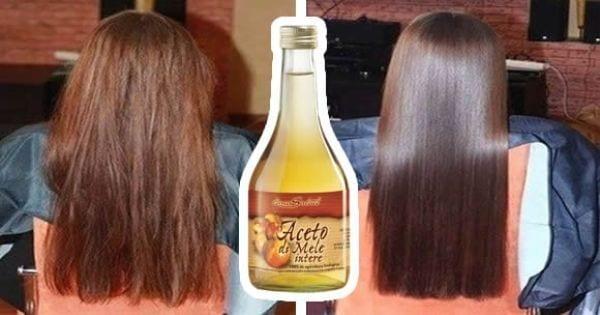 Photo of Aceto di mele: Usalo per lavare i tuoi capelli e vedi cosa succede.
