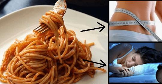 Photo of Mangiare pasta la sera: Un modo per perdere peso e dormire meglio