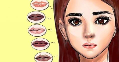 Photo of Labbra: Il loro colore ti  rivela il tuo stato di salute. Scopri perchè
