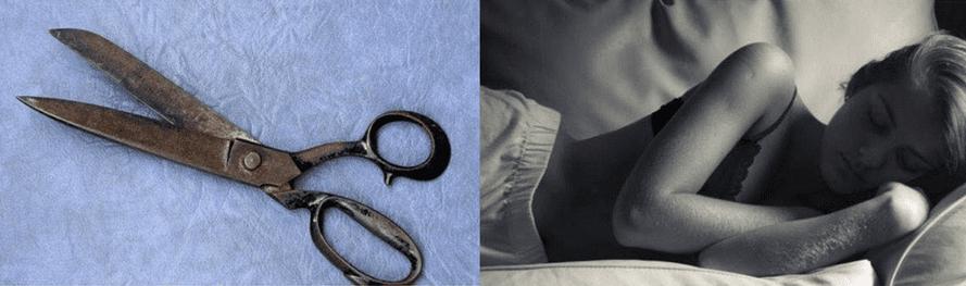 Photo of Forbici aperte: perché tenerle sotto il materasso svelato il motivo