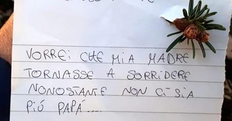 """Photo of Natale:""""Vorrei che mia madre tornasse a sorridere"""""""