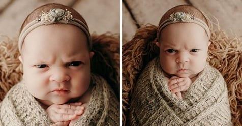 Photo of Luna: la bambina arrabbiata che è diventata virale sui social network