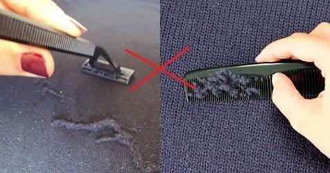 Photo of Lanugine: Come rimuovere palline e lanugine dai vestiti, è semplicissimo