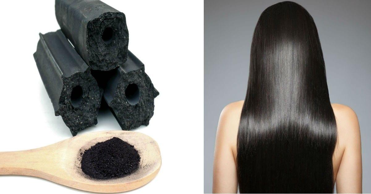 Shampoo al carbone attivo