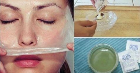 Photo of Maschera di gelatina: Elimina le rughe, e chiudi i pori