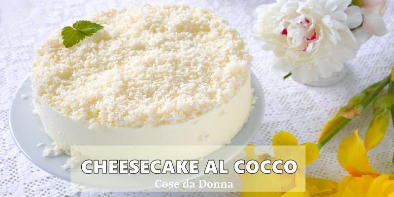 Cheesecake-al-cocco-