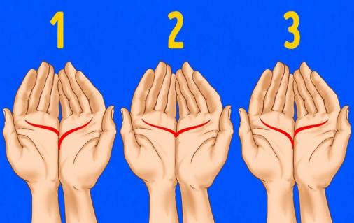 Unisci i palmi delle mani e fai attenzione!