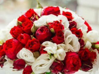 bouquet di rose per matrimonio